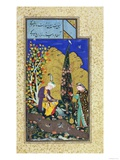 Two Lovers in a Flowering Orchard  circa 1540-50