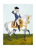 General Washington (1732-99) on a White Charger  circa 1835