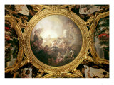 The Chariot of Apollo  Ceiling Painting from the Salon of Apollo