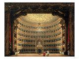 La Scala  Milan  During a Performance