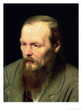 Portrait of Fyodor Dostoyevsky (1821-81) 1872