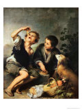 Children Eating a Pie  1670-75