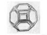 "Polyhedron  from ""De Divina Proportione"" by Luca Pacioli  Published 1509  Venice"