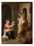 The Holy Family  circa 1660-70