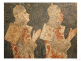 Two Crusaders of the Minutolo Family  from the Cappella Minutolo