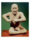 Figurine of a Wrestler
