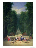 The Groves of Versailles: View of the Maze with Diana and Her Nymphs  1688