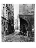 Rue Des Marmousets  from Rue Saint-Landry  Paris  1858-78