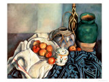 Still Life with Apples  1893-94