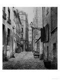 Rue Basse Des Ursins  Paris  1858-78