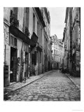 Rue Du Jardinet  from Passage Hautefeuille  Paris  1858-78
