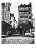 Rue De La Colombe  Paris  1858-78