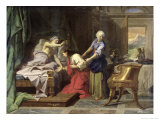 Isaac Blessing Jacob  1692