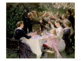 Hip Hip Hurrah! Artists' Party at Skagen  1888