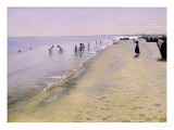 Summer Day at the South Beach of Skagen  1884