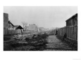 Rue D'Alesia  from Rue D'Orleans  Paris  1858-78