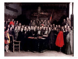 The Swearing of the Oath of Ratification of the Treaty of Munster  1648