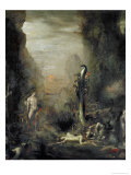Hercules and the Lernaean Hydra  after Gustave Moreau  circa 1876