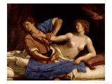 Joseph and the Wife of Potiphar  circa 1649