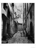 Rue Du Haut Moulin  from Rue De Glatigny  Paris  1858-78