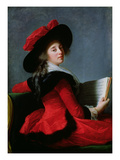 La Baronne De Crussol  1785