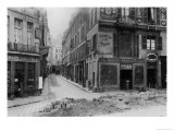 Rue Maitre Albert (From Quai De La Tournelle) Paris  1858-78