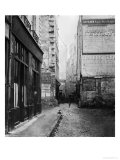 Rue Tirechape  from Rue De Rivoli  Paris  1858-78