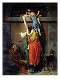 Boethius (480-524) Bidding Farewell to His Family