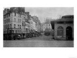 Rue De La Montagne Sainte-Genevieve  (From Place Maubert) Paris 1858-78