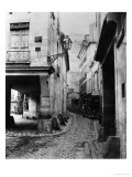 Rue Chanoinesse  from Rue Des Chantres  Paris  1858-78