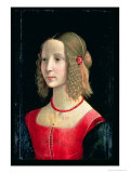Portrait of a Girl  circa 1490