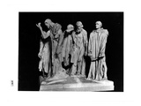 The Burghers of Calais  1889 (Plaster) (B/W Photo)