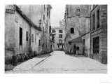 Rue Des Marmousets Saint-Marcel  from Rue Saint-Hippolyte  Paris  1858-78
