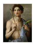St Sebastian Holding Two Arrows and the Martyr's Palm
