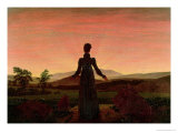 Woman at Dawn