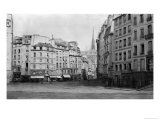 Place Maubert from the Marche Des Carmes  Paris 1858-78
