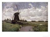 Windmill at Leidschendam