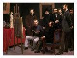 Studio at Batignolles  1870