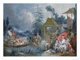 The Chinese Fishermen  circa 1742