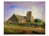 The Church at Greville  circa 1871-74