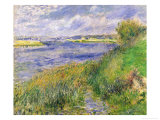 The Banks of the Seine  Champrosay  1876