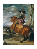 Equestrian Portrait of Don Gaspar De Guzman (1587-1645) Count-Duke of Olivares  1634