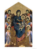 The Virgin and Child in Majesty Surrounded by Six Angels  circa 1270
