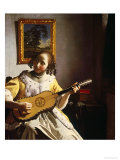 The Guitar Player  circa 1672