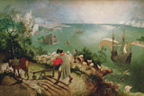 Landscape with the Fall of Icarus  circa 1555