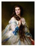 Portrait of Madame Rimsky-Korsakov (1833-78) Nee Varvara Dmitrievna Mergassov  1864
