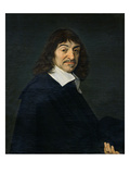 Portrait of Rene Descartes (1596-1650) C1649 (Oil on Canvas)