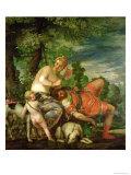 Venus and Adonis  1580