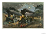 The Lightning Express Trains  1863