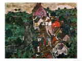 Landscape at Krumau  1910-16